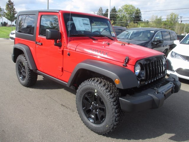 New 2018 Jeep Wrangler Jk Willys Wheeler W Sport Utility
