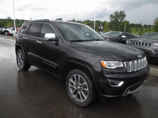 New 2018 JEEP Grand Cherokee Overland Sport Utility in White Lake ...